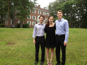 My Beethoven Chamber Trio - Maurice, Erika, and me.